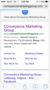 Marketing firms that can create  responsive template